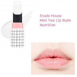 Etude House Mini Two Match Lip Balm - Nutrition