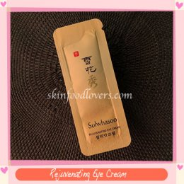 Tester Sulwhasoo Rejuvenating Eye Cream 10 EA