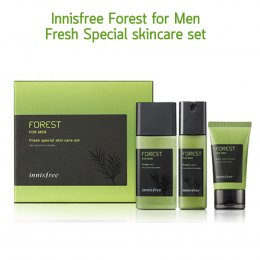Pre Order-Innisfree Forest for Men Fresh Special Skin Care Set