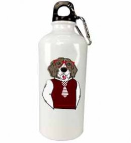 ขวดน้ำ aluminium Hipster dog bottle