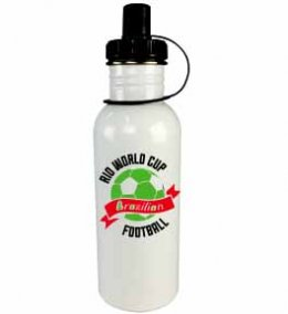 ขวดน้ำ aluminium World cup football bottle