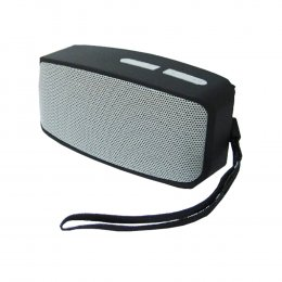 Bluetooth Speaker-ลำโพงบลูทูธไร้สาย สีเทา