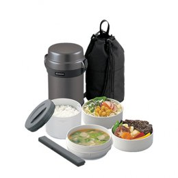 ปิ่นโตอาหารสุญญากาศเก็บความร้อน  รุ่น : SL-JAF14 HG
