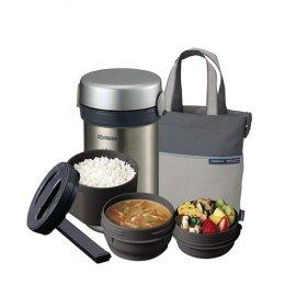 ปิ่นโตอาหารสุญญากาศเก็บความร้อน รุ่น : SL-NC09-ST