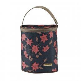 JJ Cole Bottle navy floral-กระเป๋าเก็บอุณภูมิ