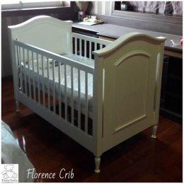 Florence Crib เตียงเด็กอ่อน แรกเกิดถึง 6 ขวบ
