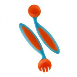 Boon - Benders Adaptable Utensils blu/org