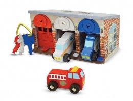 Melissa & Doug - Lock and Roll Rescue Truck Garage ชุดล๊อคแอนด์โรล