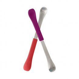 Boon - 2 in 1 Feeding Spoon Pur/Pink