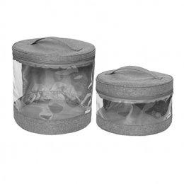 JJ Cole - Clear Storage Bin กระเป๋าเก็บของใช้เ็็ด็กอเนกประสงค์ สีเทา