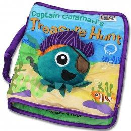 Lamaze captain calamari ' s Treasur - หนังสือนิทานผ้าสำรวจมหาสมุทรกัปตันคาลามารี