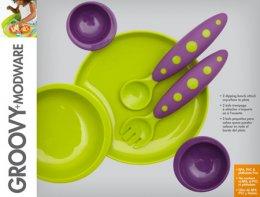 Boon Groovy Modware (Green/ Purple)