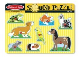 Melissa & Doug -  Sound Puzzle - Pet พัซเซิลมีเสียง รูปสัตว์