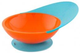 ฺBoon Catch Bowl & Catch Plate (Orange/Blue)
