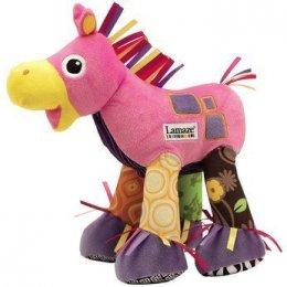 Lamaze - Trotter the Pony ตุ๊กตาผ้ารูปม้าเสริมพัฒนาการมีเสียง สีชมพู