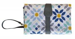 JJ Cole Changing Clutch Prairie Blossom-กระเป๋าเปลี่ยนผ้าอ้อมพกพา