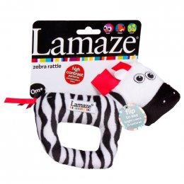 Lamaze Zebra Soft Rattie-ห่วงเขย่ารูปม้าลาย
