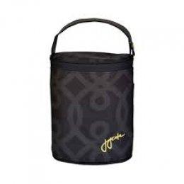 JJ Cole Bottle Cooler Black and Gold-กระเป๋าเก็บอุณภูมิ