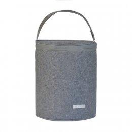 JJ Cole Bottle Cooler Gray Heather-กระเป๋าเก็บอุณภูมิ