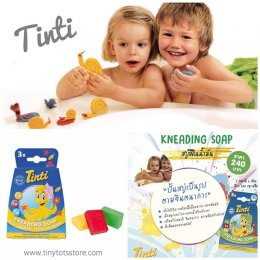 Tinti KNEADING SOAP สบู่สีดินน้ำมัน