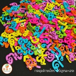 กระดุมตัวอักษรไทย