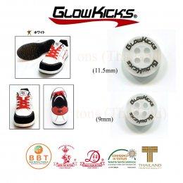 กระดุมสกรีนโลโก้ Glowkick's