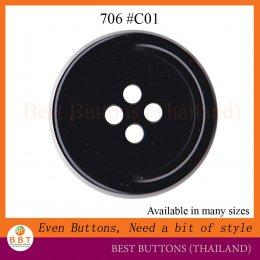 706 # C01 สีดำ
