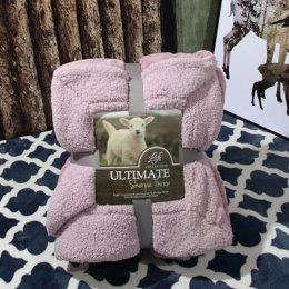 Ultimate Sherpa Throw ผ้าห่มขนแกะ น้ำหนักเบา สีม่วงอ่อน
