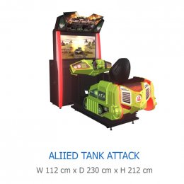 ALIIED TANK ATTACK