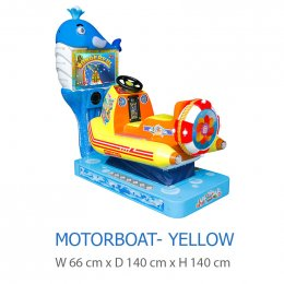 Motorboat-Yellow