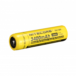 Nitecore Battery 18650 3400mAh (Recharge)
