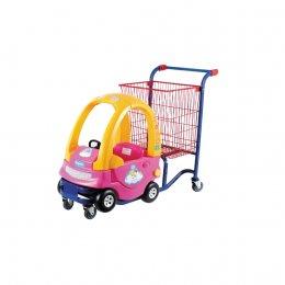 21945  รถเข็นช้อบปิ้งสำหรับเด็กสีชมพู