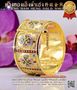 กำไลทอง ขนาดฝ่ามือ สวยสุดๆ ค่ะ
