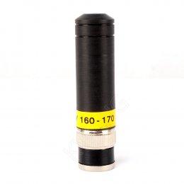 AY เสายางทรงลิปสติก 160-170 MHz(ฺBLACK)