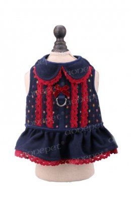 Lady Blue Harness (blue/red) size S