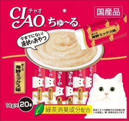 CIAO Cat Snack Churu White Tuna Flavour 14 g. (20 pcs./Pack)