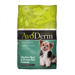 Avoderm Chicken & Brown Rice Small Breed Adult 3.18 kg.