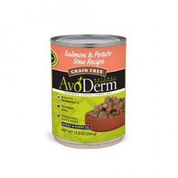 Avoderm Salmon & Potato Stew Canned 12.5 oz Grain free