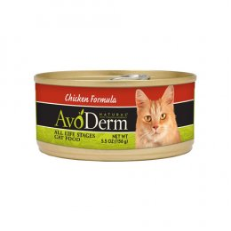 AvoDerm Cat/Kitten Chicken Formula Canned 5.5 oz.