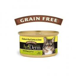 AvoDerm Cat Chicken & Duck entree Canned 85 g.