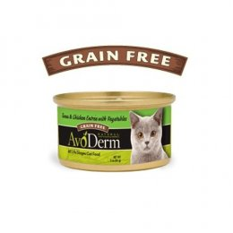 AvoDerm Cat Tuna & Chicken entree Canned 85 g.