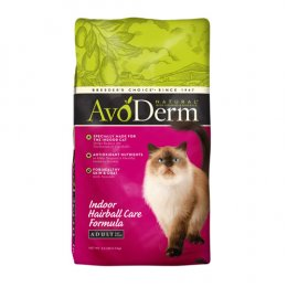 AvoDerm Indoor Hairball Care Formula 1.5 kg.