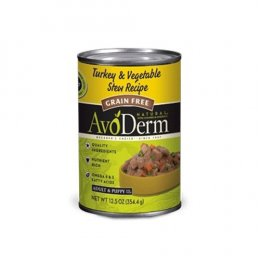 Avoderm Turkey & Vegetable Stew Canned 12.5 oz Grain free