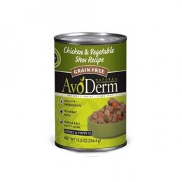 Avoderm Chicken & Vegetable Stew Canned 12.5 oz Grain free