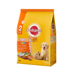 Pedigree Puppy Chicken, Egg and Milk Flavor (3 kg)
