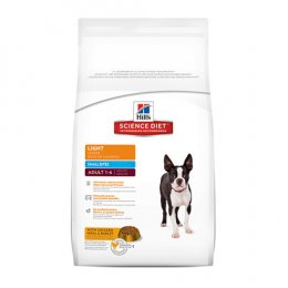 Hill's Science Diet Adult 1-6 Light Small Bites (15 kg.)