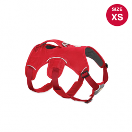 Ruffwear Web Master Harness (XS) Red Currant