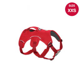Ruffwear Web Master Harness (XXS) Red Currant