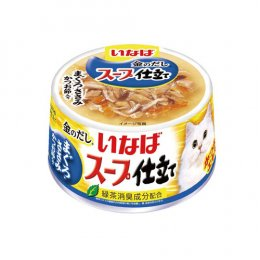 INABA Cat Food Canned White & Red Meat Chicken Fillet with Bonito (80 g.)