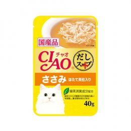 CIAO Cat Food Pouch Chicken Fillet & Scallop (40 g.)